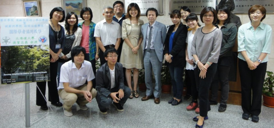 2014/03/26 Prof.Tadayoshi Asaka (日本北海道大學)來訪並演講