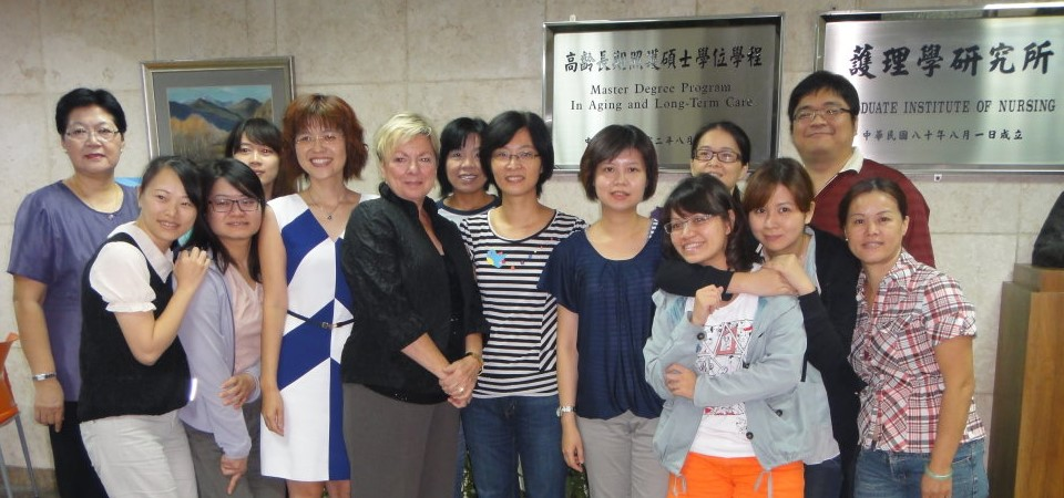 2013/10/10 Prof. Kathie Krichbaum (University of Minnesota, USA) 來訪並演講